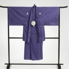 男性袴 濃パープル