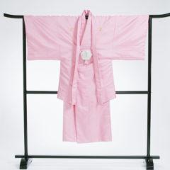 男性袴 ピンク紋金