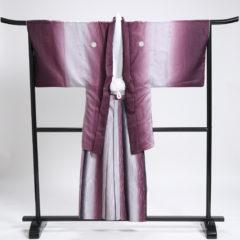 男性袴 赤紫袴セット