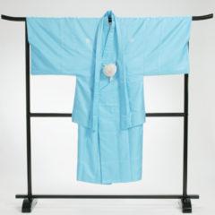 男性袴 濃ブルー