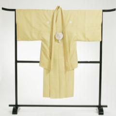 男性袴 からし紋白