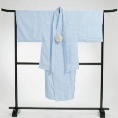 男性袴 薄ブルー