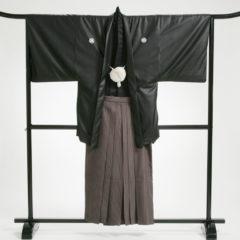 男性袴 黒ソフトレザーセット